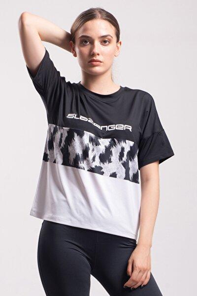 Slazenger Prevıous Kadın T-shirt Siyah