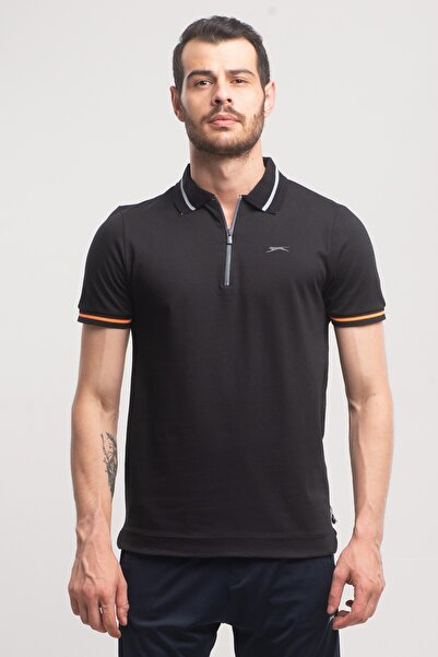 Slazenger Present Erkek T-shirt Siyah
