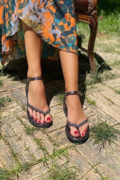 İnan Ayakkabı Platin Kadın Sandalet INA325NLT