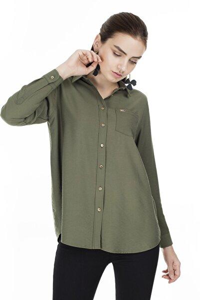 U.S. Polo Assn. Kadın Gömlek G082SZ004.000.837405