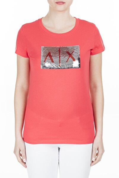 Armani Exchange Kadın Kırmızı T-Shirt 8Nytdl Yj73Z 6425