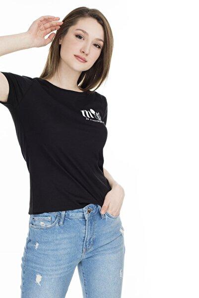 Kadın Magic Baskılı Siyah T-Shirt 168497-900