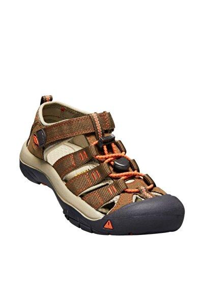 Keen Newport H2 Genç Sandalet Kahverengi/Turuncu