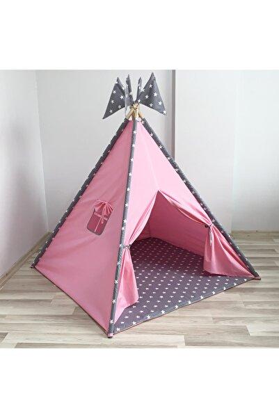 Gökmen Tekstil Lüx Oyun Çadırı Pembe