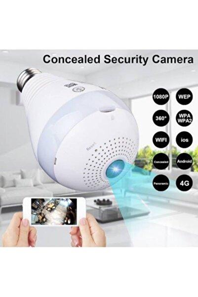 Kingboss Ip-28 Wifi Panorama Kamera 360 Derece Kablosuz Kamera