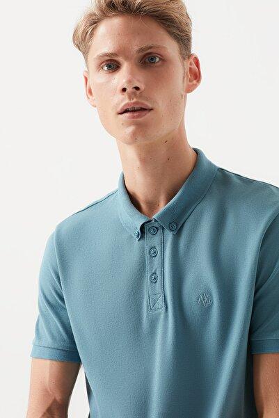 Erkek Açık Turkuaz Polo T-Shirt 063247-31925
