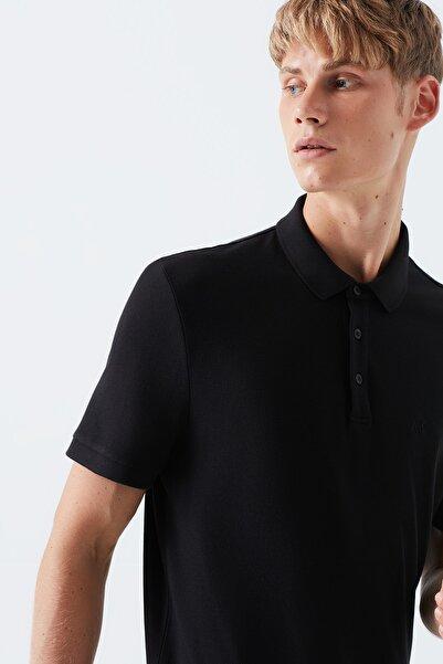 Erkek Siyah Polo T-Shirt 066157-900