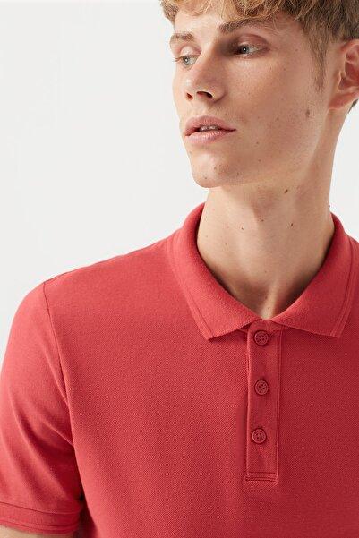 Erkek Kırmızı Polo T-Shirt 064946-30704