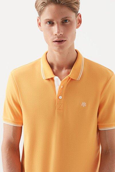 Erkek Koyu Sarı Polo T-Shirt 064164-31382