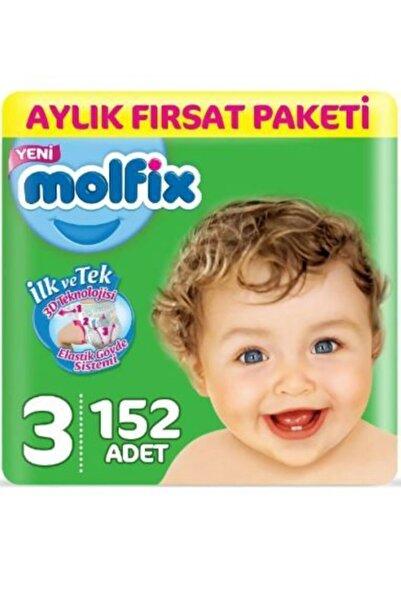 Molfix Ultra Avantaj Paketi Bebek Bezi 152'Li