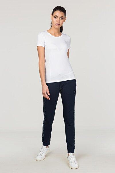 Beyaz Kadın Antrenman T-Shirt FS-1735