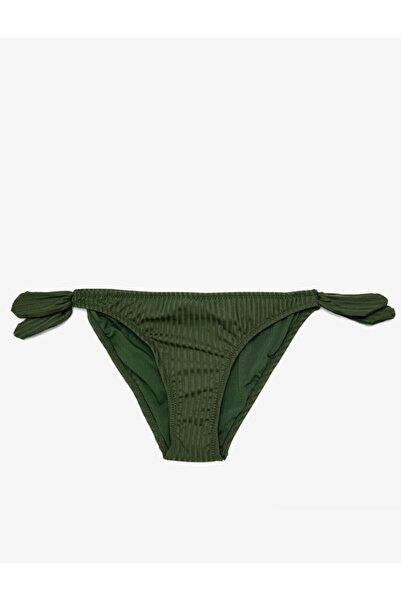 Koton Kadın Normal Bel Beli Baglamali Bikini Alti