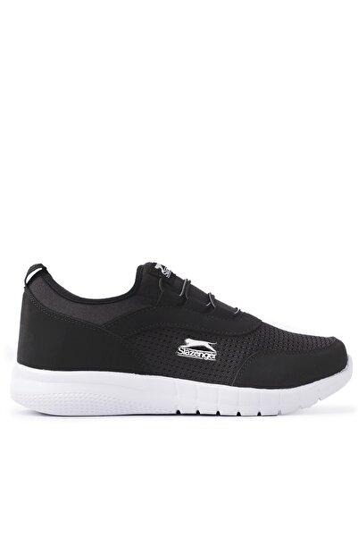 Slazenger Pıno Kadın  Siyah Beyaz Günlük Giyim Ayakkabı