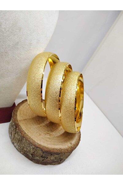 TAKI TASARIM 1.5 Cm Bilezik Kuyumcu Model Altın Kaplama 1 Adet