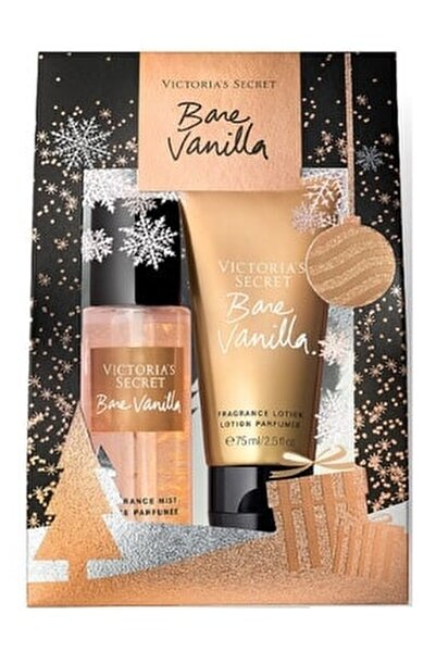 Bare Vanilla 75ml Vücut Spreyi+75ml Vücut Losyonu Hediye Seti