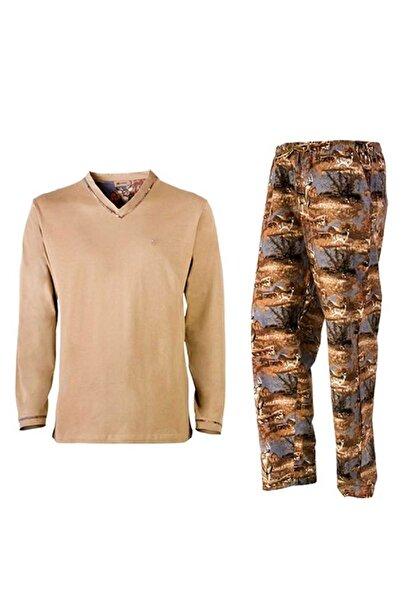 Yaban Store Unisex Haki Yaban Koton Pijama Takımı