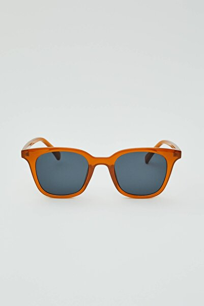 Pull & Bear Kadın Kavruk Basic Kare Güneş Gözlüğü 05894311