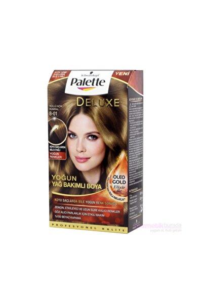 Palette Deluxe Saç Boyası 8 01 Küllü Açık Kumral