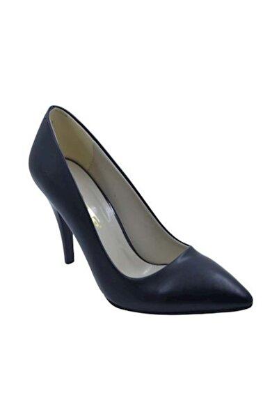 PUNTO 462001 Kadın Topuklu Stiletto Ayakkabı- Siyah - 38