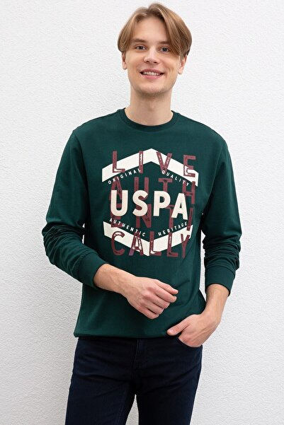 Erkek U.s.polo Assn. 841313 0 Yaka  Sweat