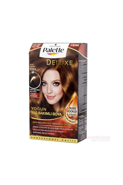Palette Dore Kumral Deluxe Kit Saç Boyası