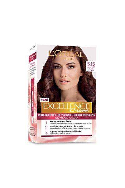 Saç Boyası - Excellence Creme 5.15  Efsanevi Türk Kahve 3600520971056