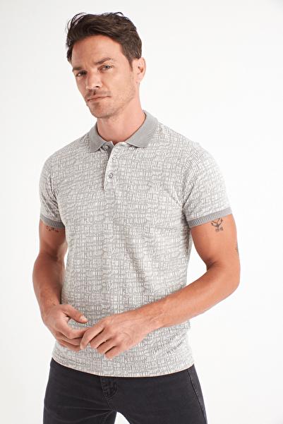 Avva Polo Yaka Jakarlı T-Shirt