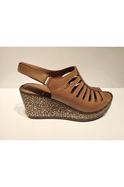 Pandora Kadın Kahverengi Sandalet Y20 St175