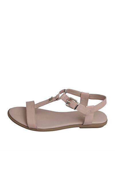 Tommy Hilfiger Feminine LeaTHer Flat Sandal FW0FW04882