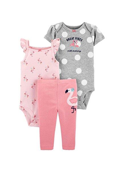 Carter's Flamingo 3'lü Bebek Takımı