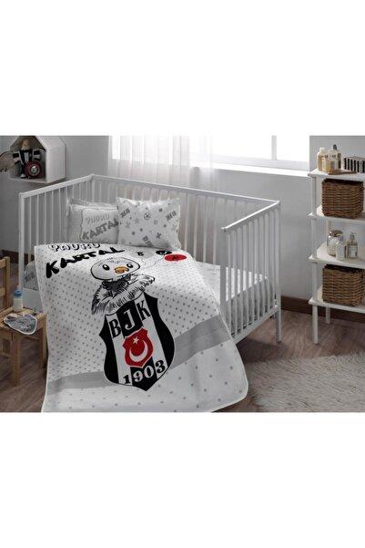 Taç Lisanslı Bebek Pike Takımı Bjk Beşiktaş Yavru Kartal