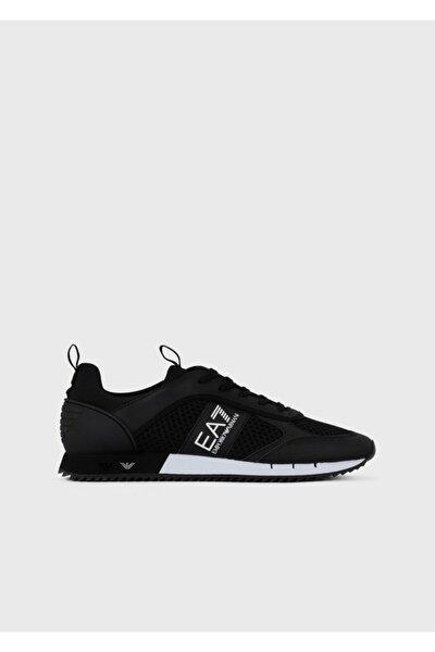 EA7 Activewear Erkek  Siyah Spor Ayakkabı