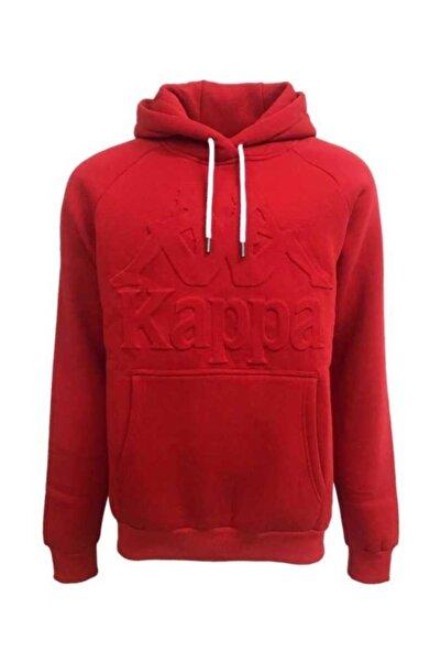 Kappa Erkek Kırmızı Sweatshirt