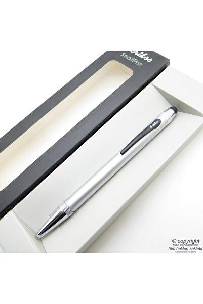 Scrikss Mini Smart Mat Krom Ekran Tükenmez Kalem | Kalem | Isme Özel Kalem | Hediyelik Kalem