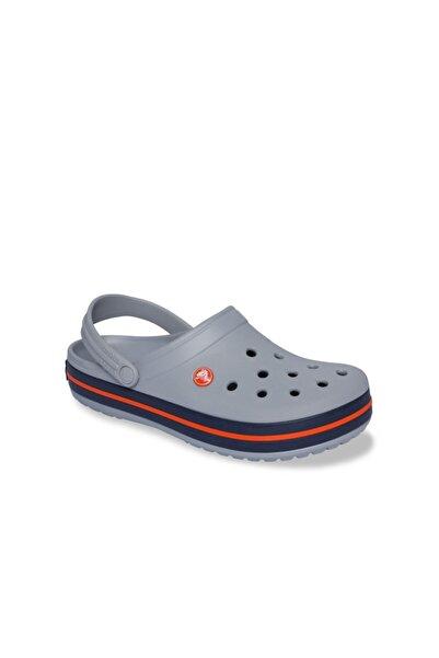 Crocband Erkek Terlik & Sandalet - Light Grey/Navy (Açık Gri/Lacivert)