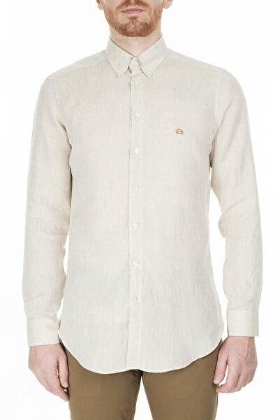 ETRO Erkek Beyaz Slim Fit  Gömlek 1k964 6118 991