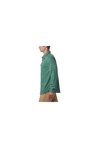 Erkek Yeşil Am1568 Sılver Rıdge Lıte Long Sleeve Shırt  Gömlek