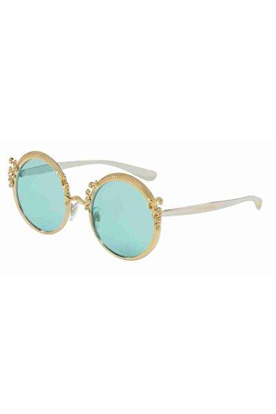 Dolce Kadın Altın Gabbana G Ekartman Güneş Gözlüğü Dg217702/6553