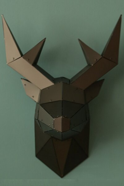 Craft Colic Deer - 3 Boyutlu Metal Geyik Figürü