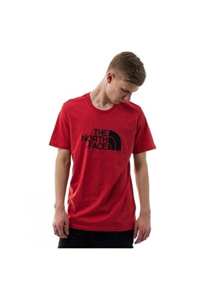 Erkek Kırmızı Baskılı Tişört
