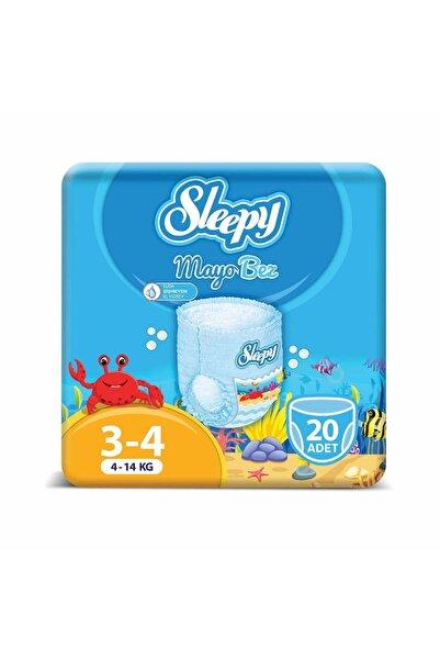 Sleepy Mayo Külot Bez 4 Beden Maxi 20 Adet (4-14 Kg)