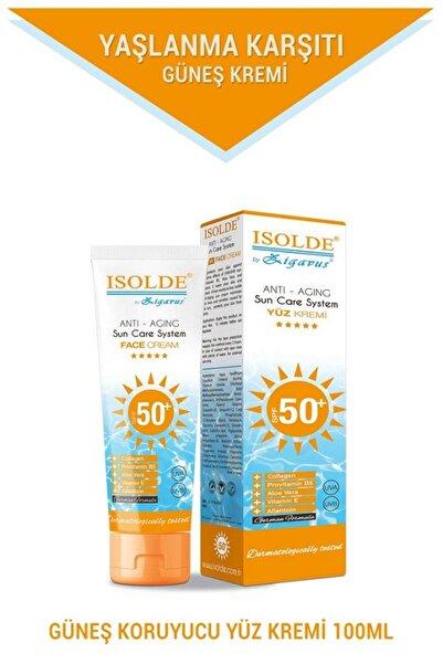 Isolde Güneş Koruyucu Anti-Aging Yüz Kremi 50+ 100 ml