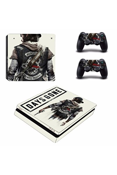 KT Decor Days Gone Playstation 4 Slim Kasa Sticker Kaplama