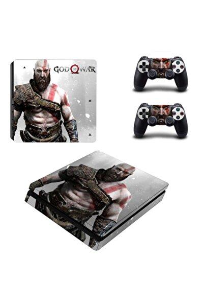 KT Decor God Of War Playstation 4 Slim Kasa Sticker Kaplama