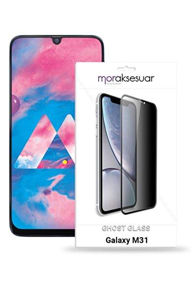 Galaxy M31 Gizli Hayalet Ekran Koruyucu Kırılmaz Cam