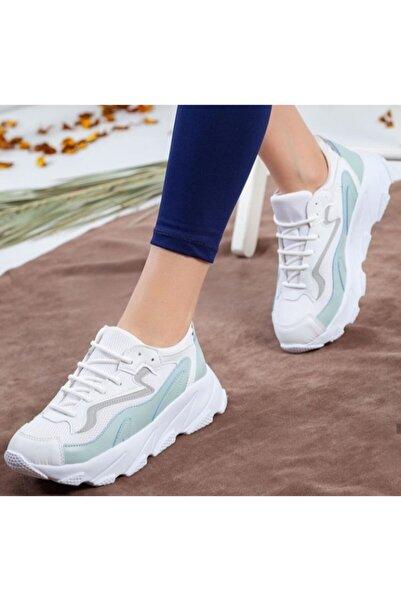TREND Kadın Beyaz Spor Ayakkabı