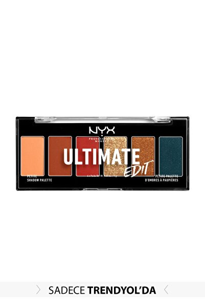NYX Professional Makeup Nyx Ultimate Edit Petite Shadow Palette 800897205188