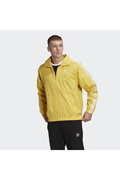 Erkek Sarı  Spor Sweatshirt