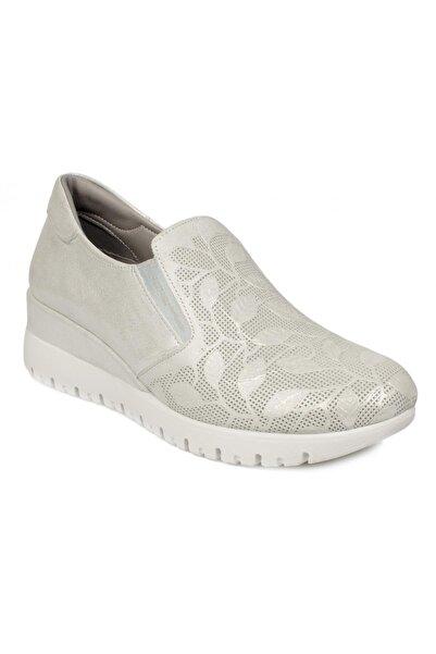 Stella 20357z Casual Günlük Gümüş Kadın Ayakkabı