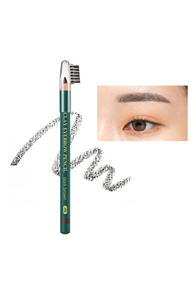 Missha Clay Eyebrow Pencil [Dark Brown]